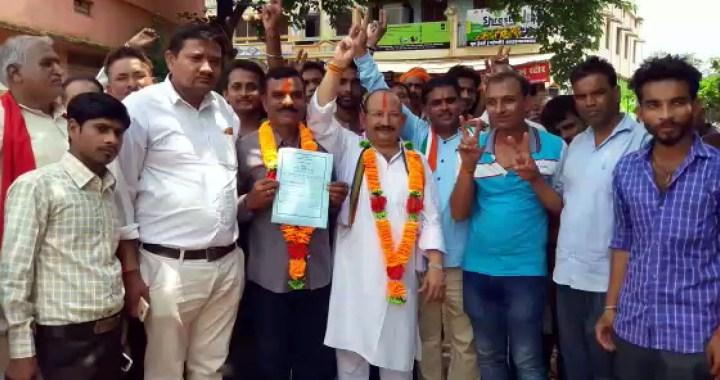 ग्राम मनकहरी सरपंच बने मनोज कुमार तिवारी, 467 वोट मिले