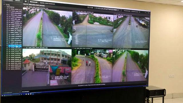 बुरहानपुर में 178 कैमरों की मदद् से पुलिस रखेगी नज़र