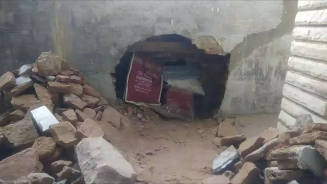 चोरों ने जैतारण सर्राफा व्यापारी की दुकान में मारी सेंध