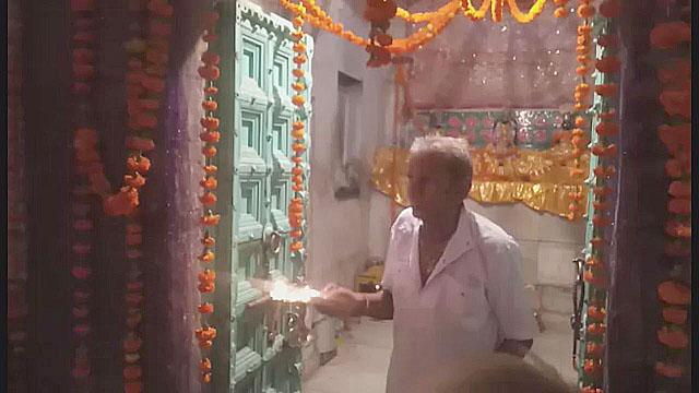 रणछोड़ भगवन के मंदिर में मनाई गई कृष्ण जन्माष्टमी