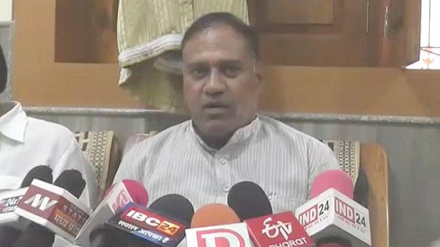 बुरहानपुर से रविंद्र महाजन हए कांग्रेस प्रत्याशी घोषित