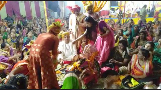 सिरोंज में शालिग्राम-तुलसी विवाह सम्पन्न हुआ