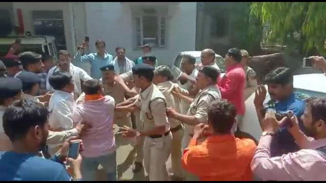 Sadhvi Pragya Rally Bhopal