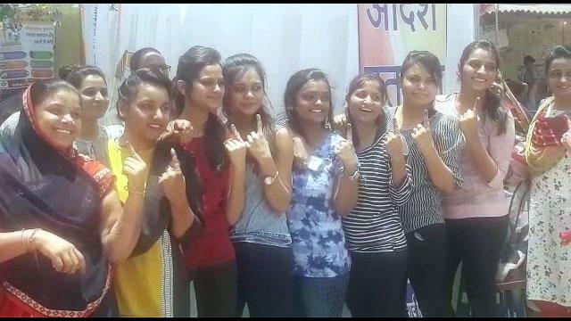 Voter Turnout Dhar