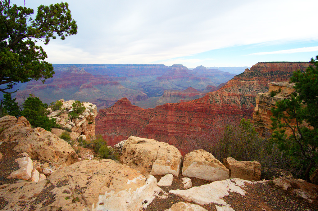 Mather Point – Amazing First View of The Grand Canyon, South Rim