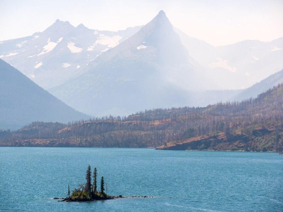 Saint Mary's Lake, Glacier National Park.