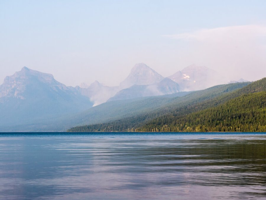 Lake MacDonald Wildfires