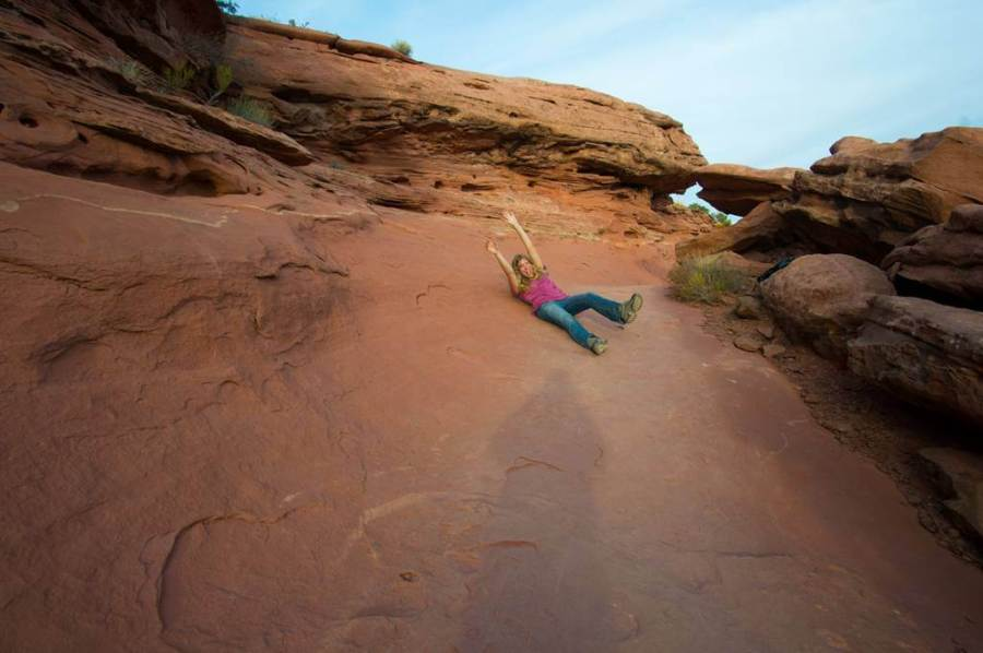 canyonlands trail fun