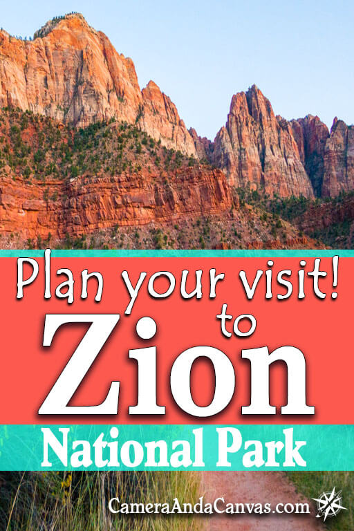 plan your visit to Zion National Park in Utah