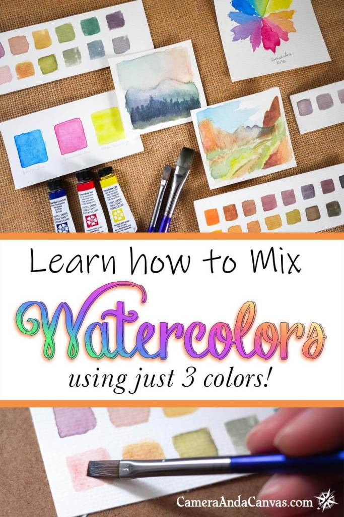 how to mix your own watercolors