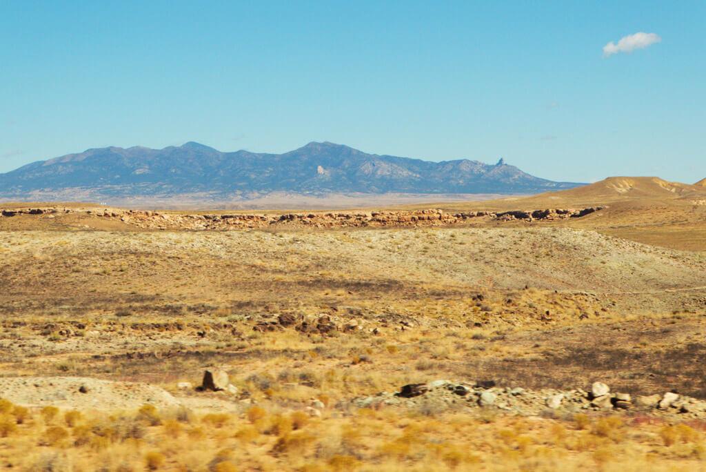 The Sleeping Ute Mountains