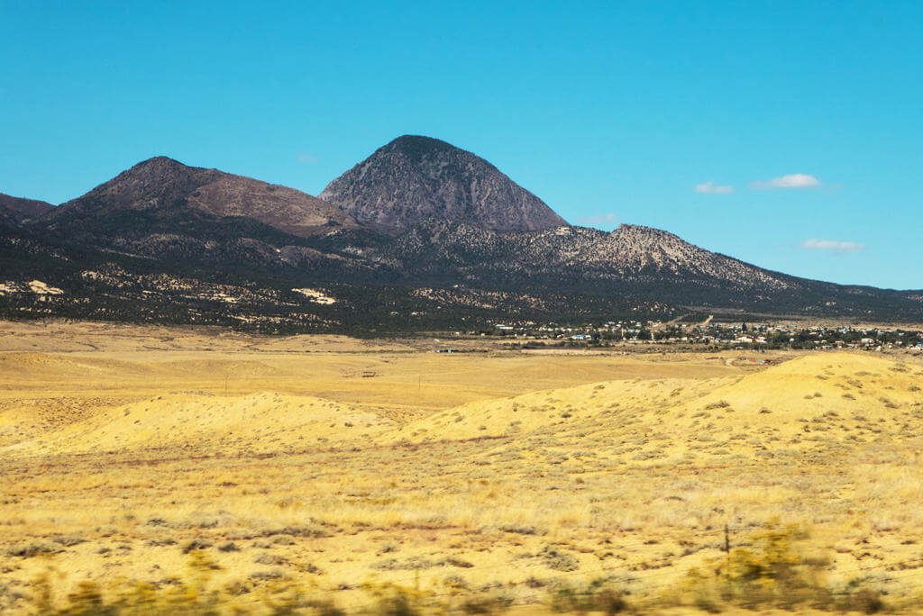 The Ute Mountains