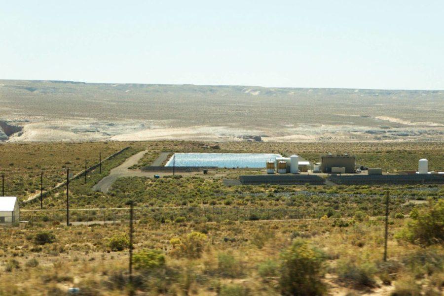 Desert Water Resevoir in Arizona