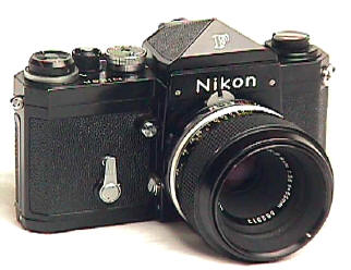 Nikon F - Photo courtesy of cameraquest (www.cameraquest.com)