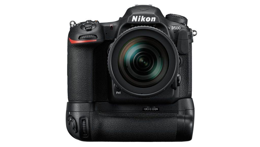 Nikon D500 with grip