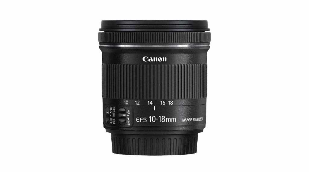 Best Canon EF-S lenses: 01 Canon 10-18mm f/4.5-5.6 IS STM, £180