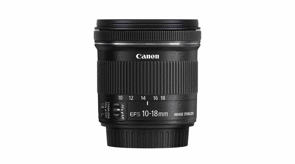 Best Canon EF-S lenses: 01 Canon 10-18mm f/4.5-5.6 IS STM, £180