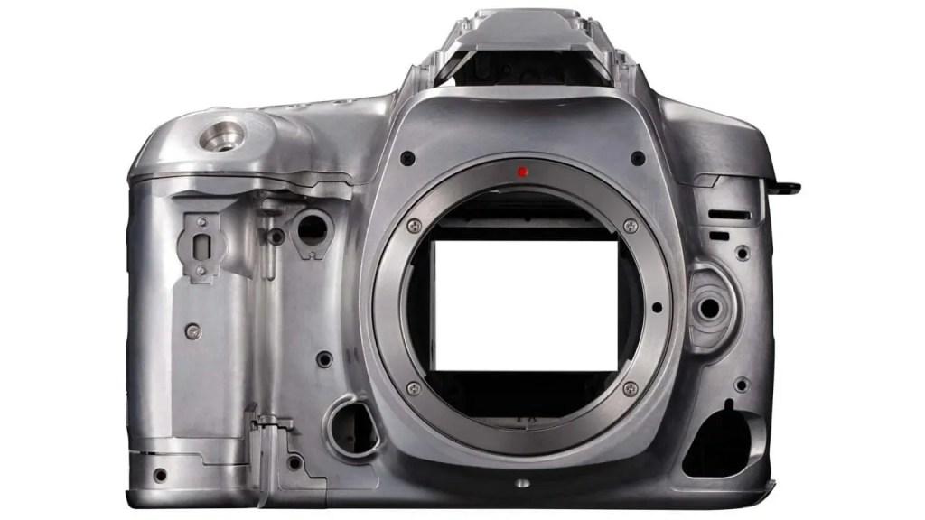 Canon 5D Mark IV metal bodyshell