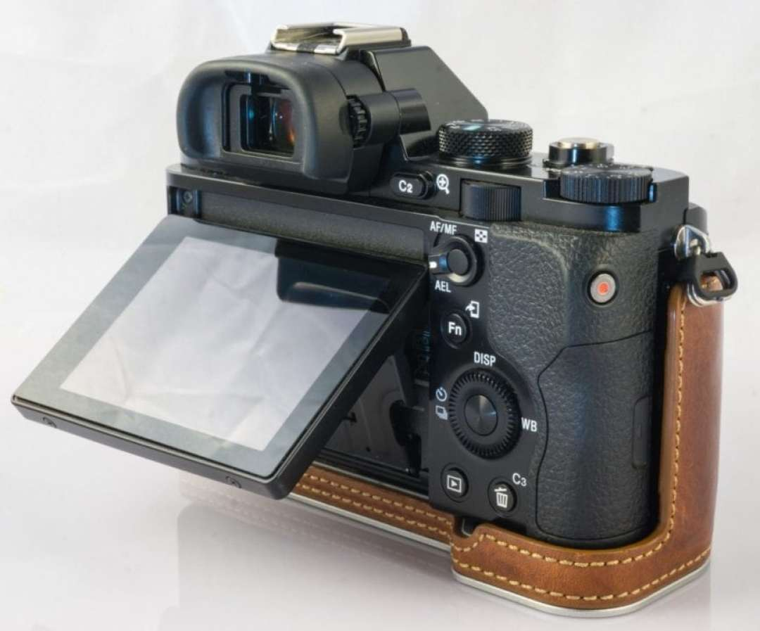 Mirrorless cameras: 03 They are permanently in Live View mode