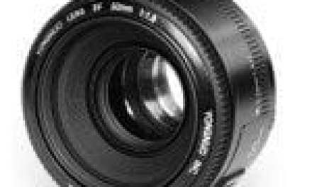 Daily Deal: this 50mm f/1.8 prime lens costs less than £50
