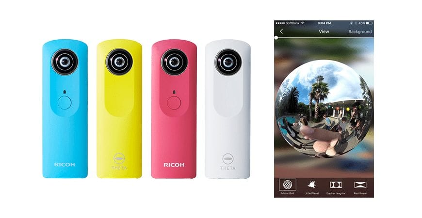 Ricoh's THETA+ Video for Android app goes full circle with 360° video editing