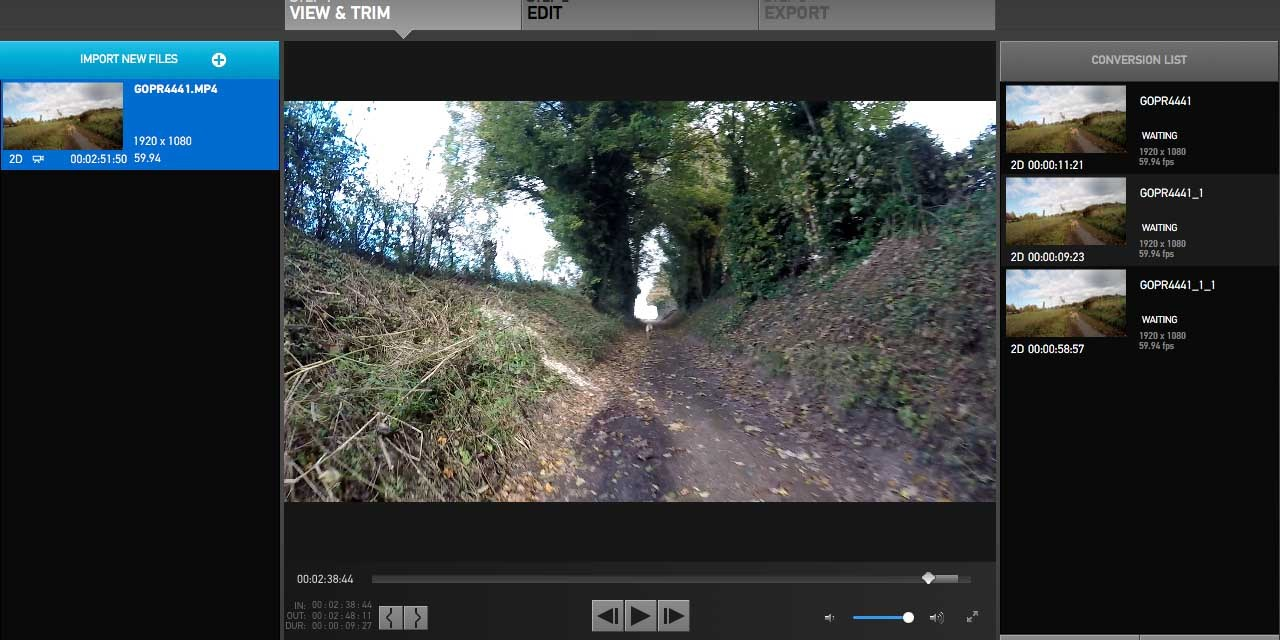 How to edit video with GoPro Studio