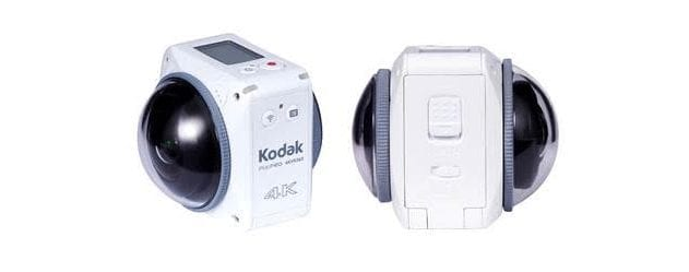 Kodak PixPro ORBIT360 / 4KVR360 now shipping