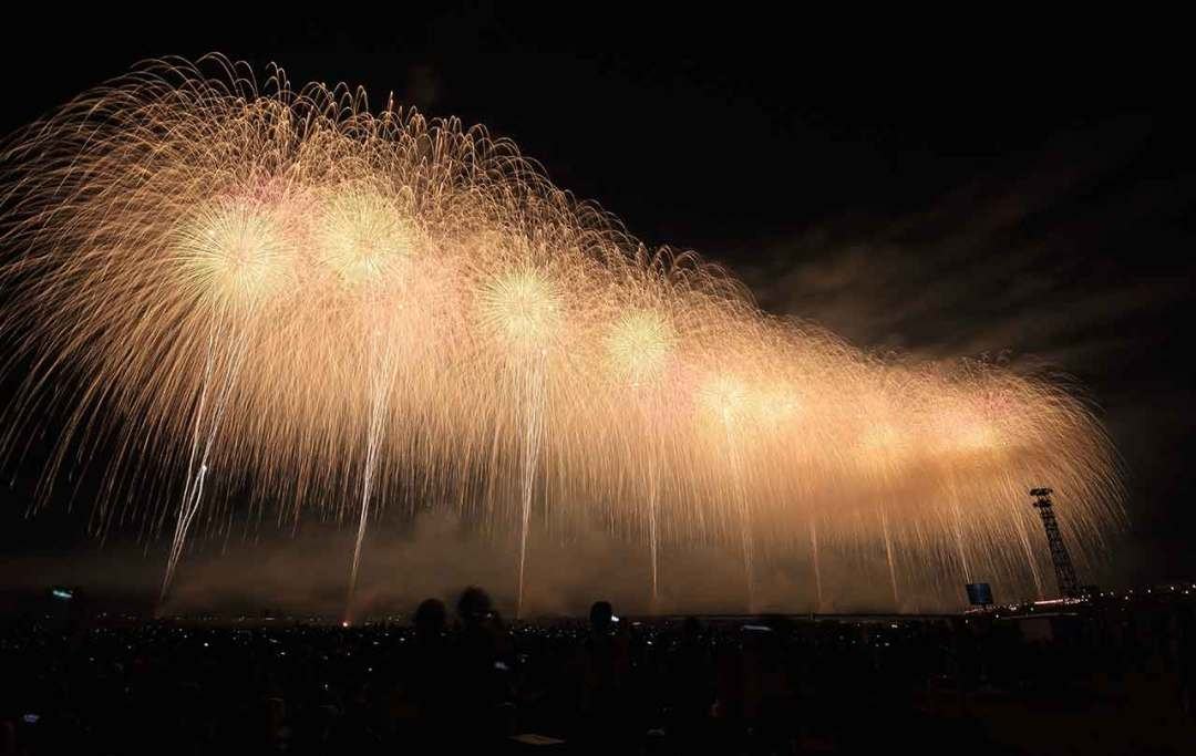 Setting up your camera to photograph fireworks