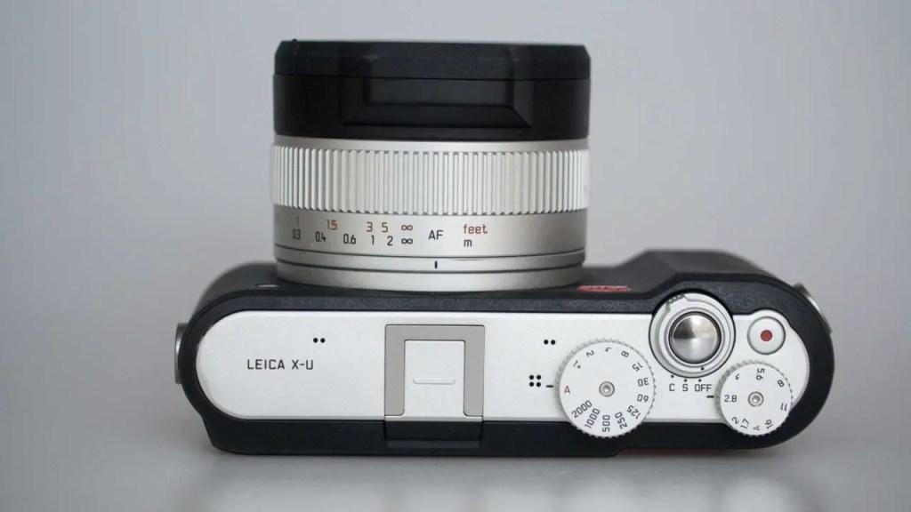 Leica X-U (Typ 113) top