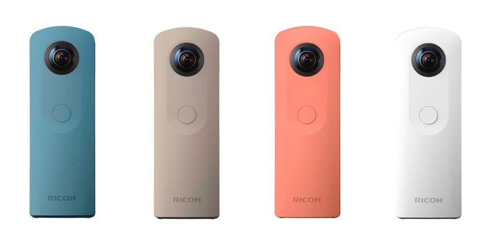 Ricoh launches Theta SC with simpler controls, lighter body