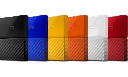 WD revamps hard drives with new colours, hardware encryption