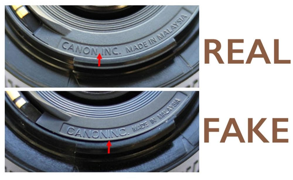 Canon warns against fake 50mm f/1.8 lenses