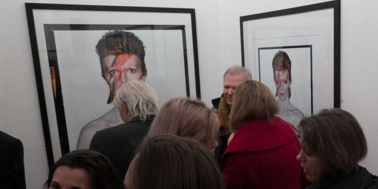 Bowie by Duffy at Proud Chelsea