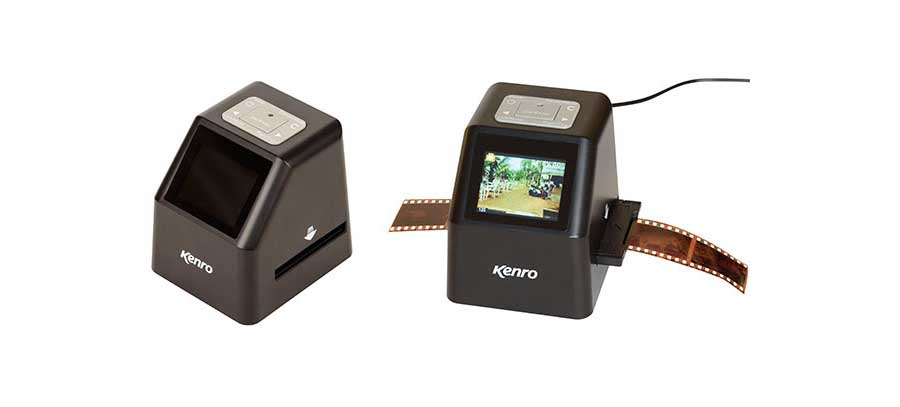 Kenro launches KNSC101 film scanner… with no computer required