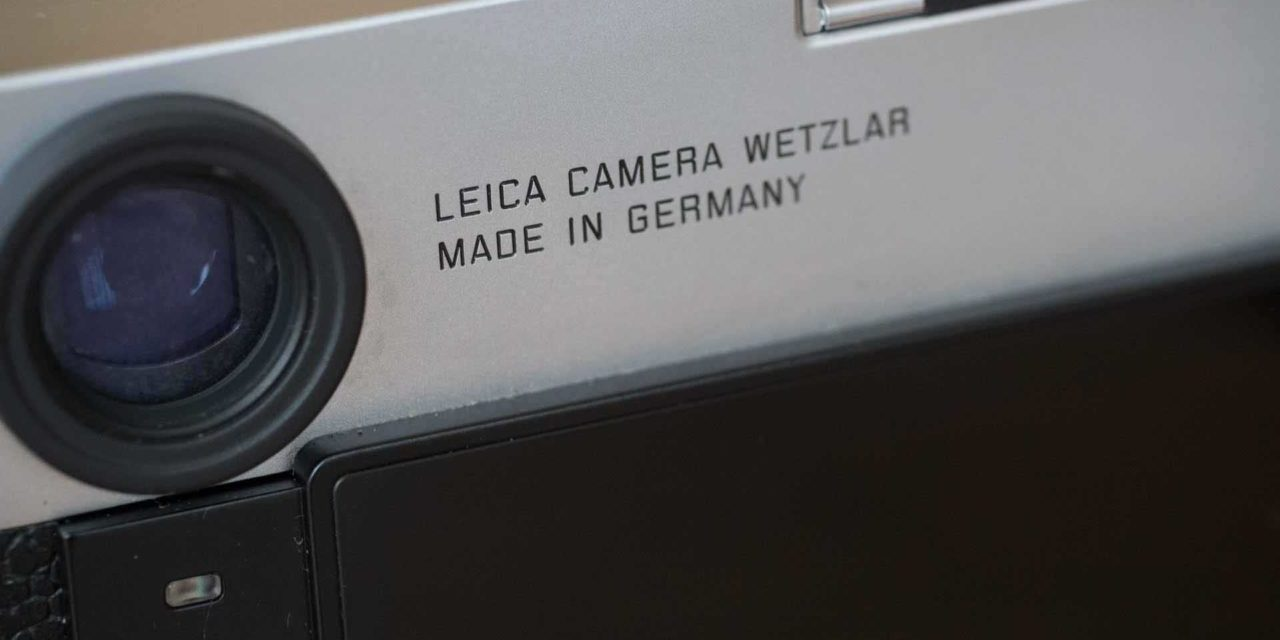 Leica confident that dust is less of a problem for the M10