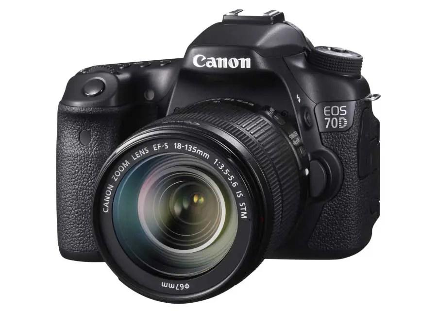 Best AF in old cameras: 04 Canon EOS 70D