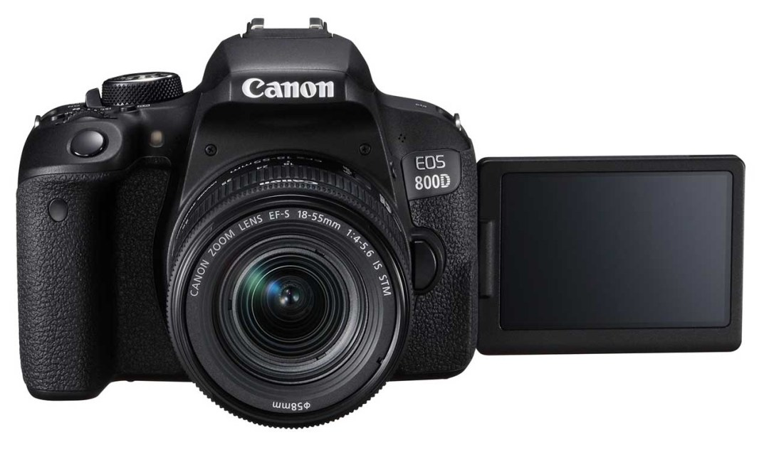 Canon 800D / Rebel T7i review: front of camera