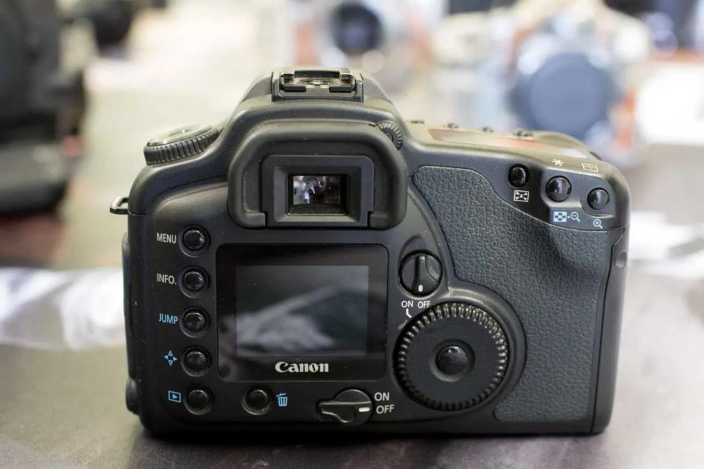 Canon EOS 10D back
