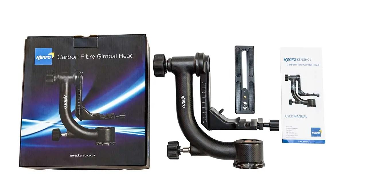 Kenro announce new carbon fibre gimbal head
