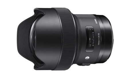 Sigma adds 14mm f/1.8 DG HSM to its Art lens line