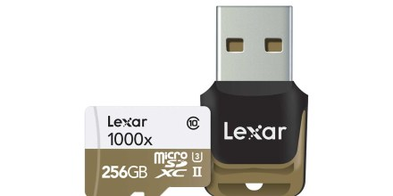 Lexar launches 256GB 1000x microSD card aimed at professionals