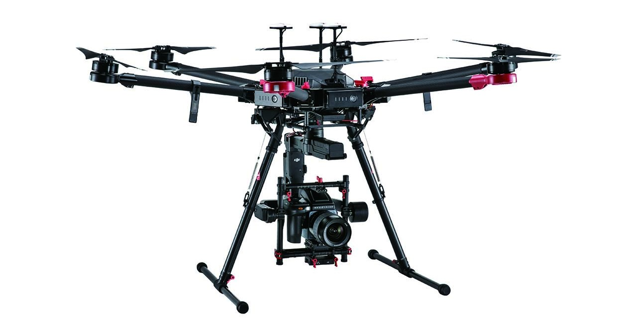 DJI M600 Pro drone features a 100MP Hasselblad camera