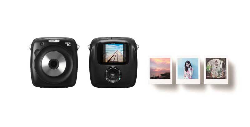 Fuji launches instax SQ10 square format instant camera with digital sensor