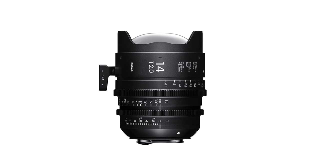 Sigma announces 14mm T2 and 135mm T2 Cine lenses