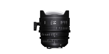 Sigma announces 14mm T2 and 135mm T2 Cine lenses