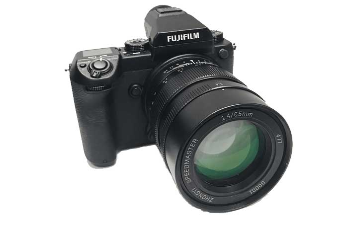 Third-party 65mm f/1.4, 85mm f/1.2 lenses for Fuji GFX coming soon