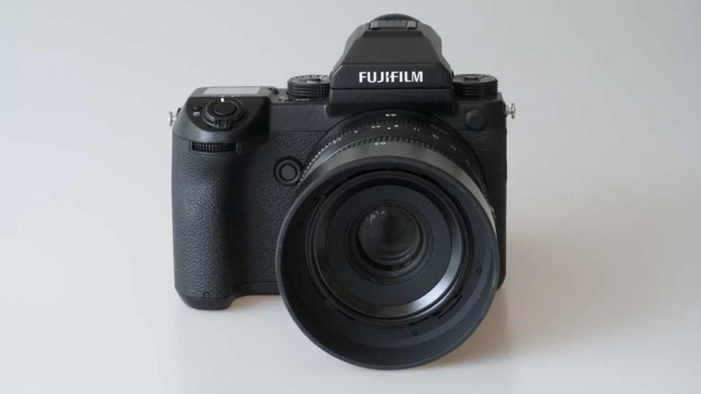 Fuji GFX 50S Review front