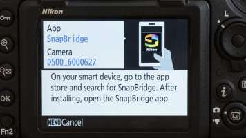 How to connect SnapBridge: step 03