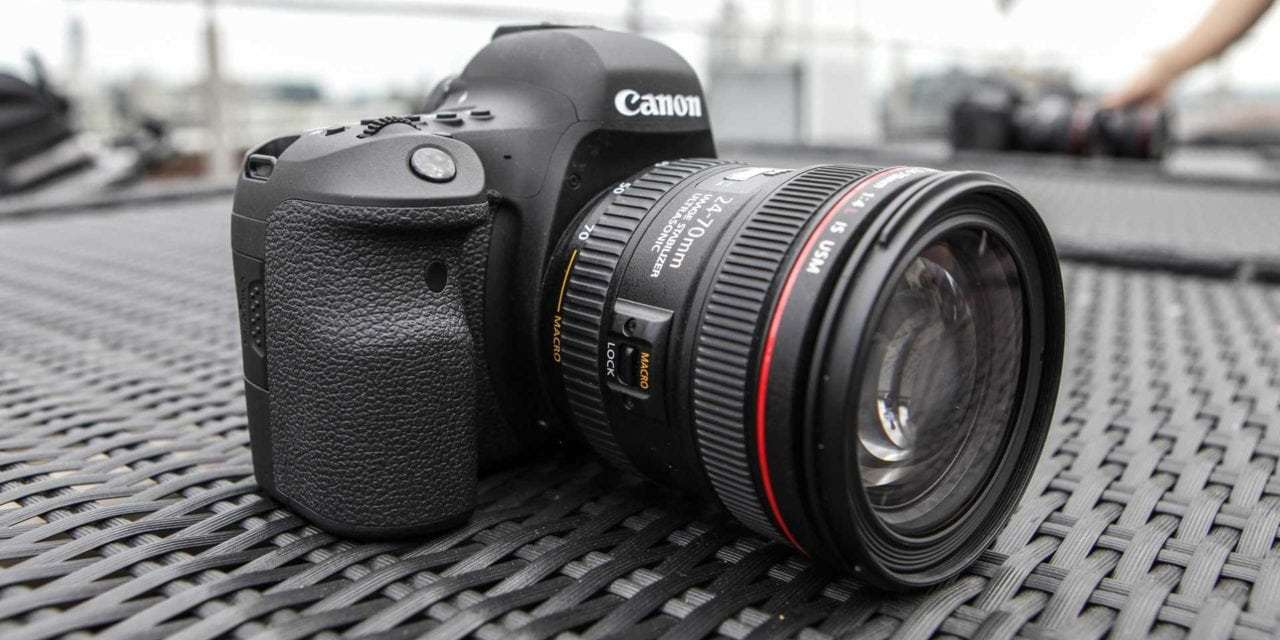 Canon's David Parry talks about the Canon EOS 6D Mark II