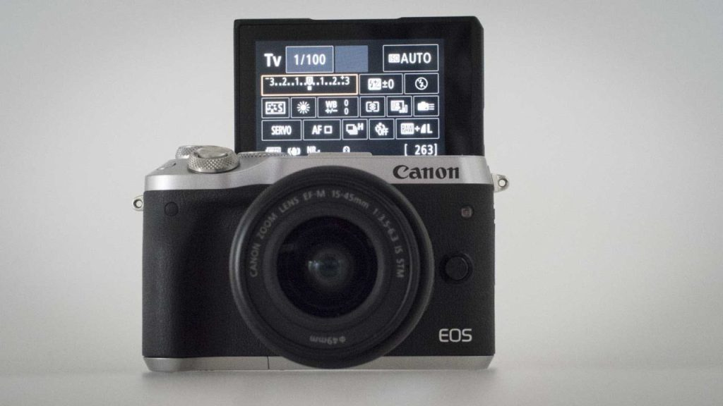 Canon EOS M6 review - Flip-up screen